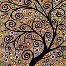 Abstract tree-11 by maggie326