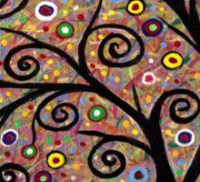 Abstract tree-11 Sticker