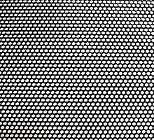 Black and White Pattern by Cornelius Jacob
