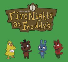 Five Night At Crossing's Kids Clothes