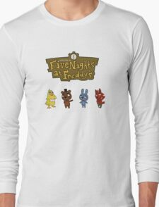 Five Night At Crossing's Long Sleeve T-Shirt