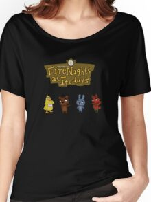 Five Night At Crossing's Women's Relaxed Fit T-Shirt
