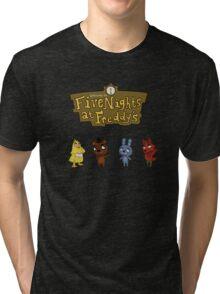 Five Night At Crossing's Tri-blend T-Shirt