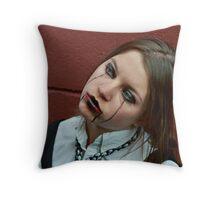 Puppet Eight Throw Pillow