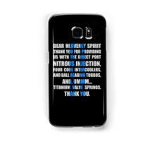 The Fast And The Furious Jesse Grace V1 Samsung Galaxy Case/Skin