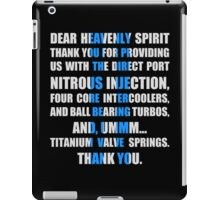 The Fast And The Furious Jesse Grace V1 iPad Case/Skin