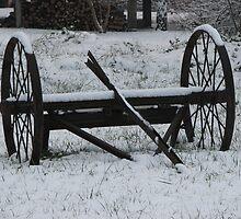 Wheels frozen by goddessteri211
