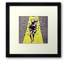 Lost in a negative space... Framed Print
