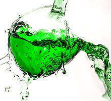 Green Splash  by Martina Fagan
