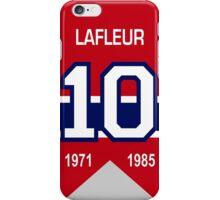Guy Lafleur - retired jersey #10 iPhone Case/Skin