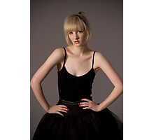 bad girl ballerina Photographic Print