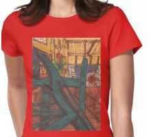 pratt engine room Womens Fitted T-Shirt