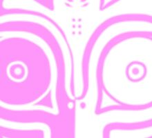 Ask-Majorasmask Logo (Pink) Sticker