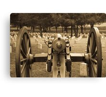 The Results of War Canvas Print