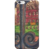 pratt library iPhone Case/Skin