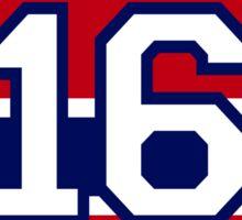 Henri Richard - retired jersey #16 Sticker