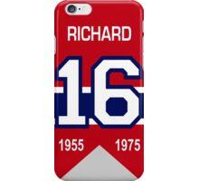 Henri Richard - retired jersey #16 iPhone Case/Skin