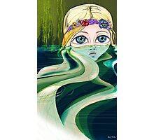Water Girl Photographic Print