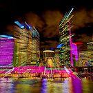 Warp Speed City by Erik Schlogl