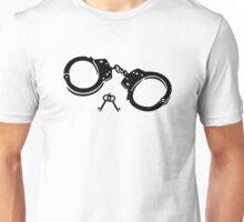 Handcuffs keys Unisex T-Shirt