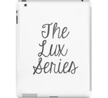 The Lux Series - Grey Pattern iPad Case/Skin
