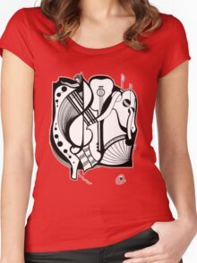 Abstract Moments Women's Fitted Scoop T-Shirt
