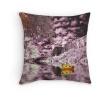 The Purple Mirror Throw Pillow