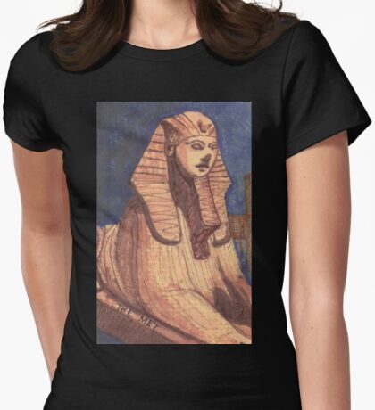 temple of dendur Womens Fitted T-Shirt