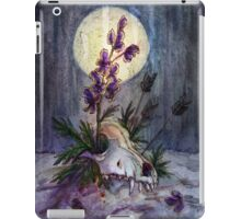 Wolfsbane iPad Case/Skin