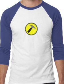 The Hammer (is my penis) Men's Baseball ¾ T-Shirt
