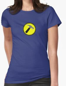 The Hammer (is my penis) Womens Fitted T-Shirt