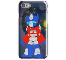 Chibi Optimus Prime iPhone Case/Skin