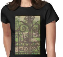 trinity cemetery Womens Fitted T-Shirt