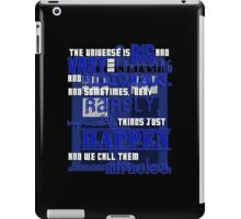 Doctor Who - 'We Call Them Miracles' iPad Case/Skin