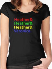 Heathers & Veronica Tee Women's Fitted Scoop T-Shirt