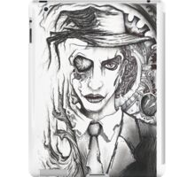 Mr. Time (Time Will Destroy Everything)  iPad Case/Skin