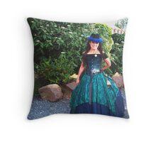 Fair Lady Throw Pillow