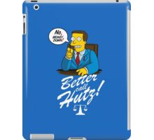 Better Call Hutz iPad Case/Skin