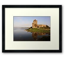 Dunguaire castle view  Framed Print