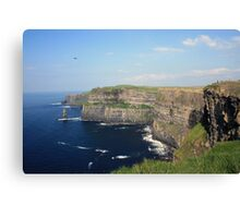 Cliffs of Moher view 1 Canvas Print