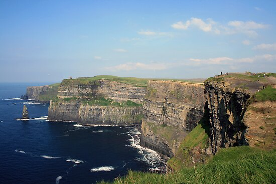 Cliffs of Moher view 2 by John Quinn