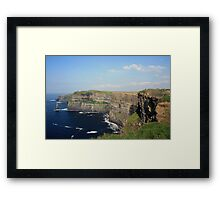 Cliffs of Moher view 2 Framed Print
