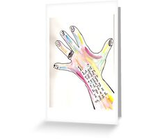loads u ca do with hands Greeting Card