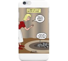 Tinkles Timmys Cat iPhone Case/Skin