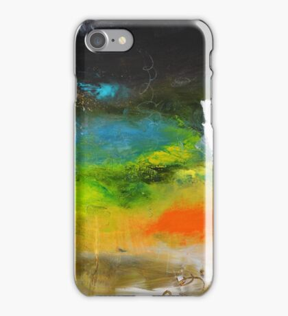 Green Abstract Art  iPhone Case/Skin