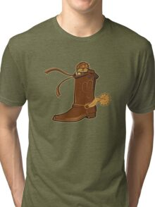 snake in my boot Tri-blend T-Shirt