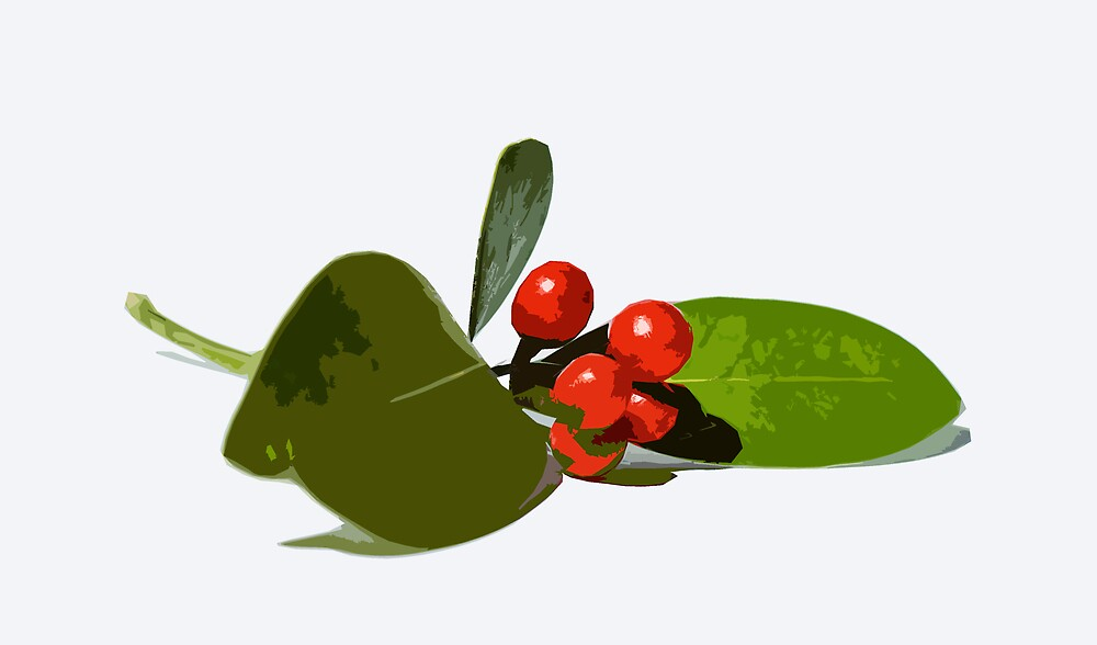 Christmas berries 2 by mausue