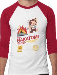 Super Nakatomi Tower Men's Baseball ¾ T-Shirt