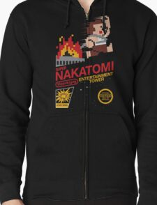 Super Nakatomi Tower Zipped Hoodie