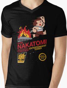 Super Nakatomi Tower Mens V-Neck T-Shirt